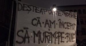 În România se moare cu zile #colectiv