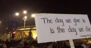"""""""Nu suntem numere, suntem liberi""""  #colectiv"""